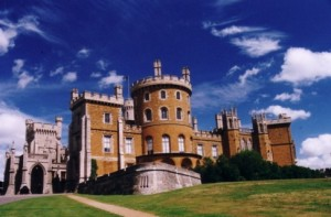 Belvoir Castle, ancestral home of the D'Aubigny family