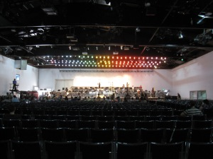 Hangar 11, Tel Aviv. Our stage for the Requiem.