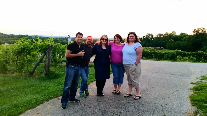 Everything's better with wine, but wine is better with lifelong friends.