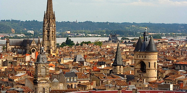 Bordeaux is a charming small city on France's southern Atlantic coast.  It's one of the most important wine-growing regions in France, which is probably the most important wine-growing country in the world.  Which would make Bordeaux the most important wine region in the world.