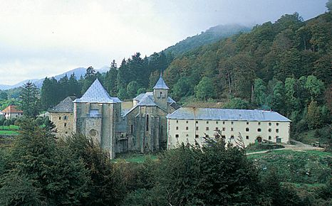 Roncesvalles monastery.