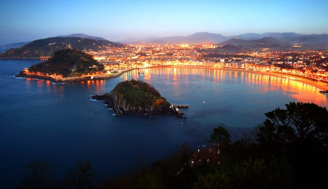 San Sebastian.  Looks like a good vacation spot, no?